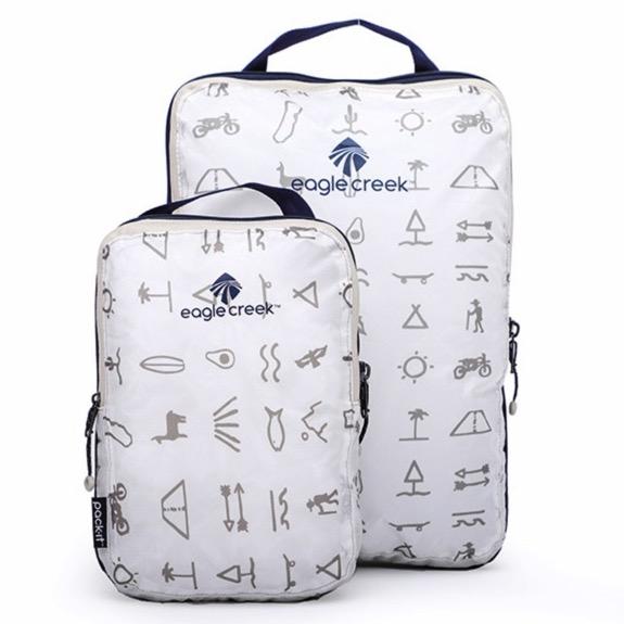 美国EAGLE CREEK逸客旅行收纳袋户外防水打理袋衣物整理压缩包袋超轻套装PACK-IT 玛雅印花