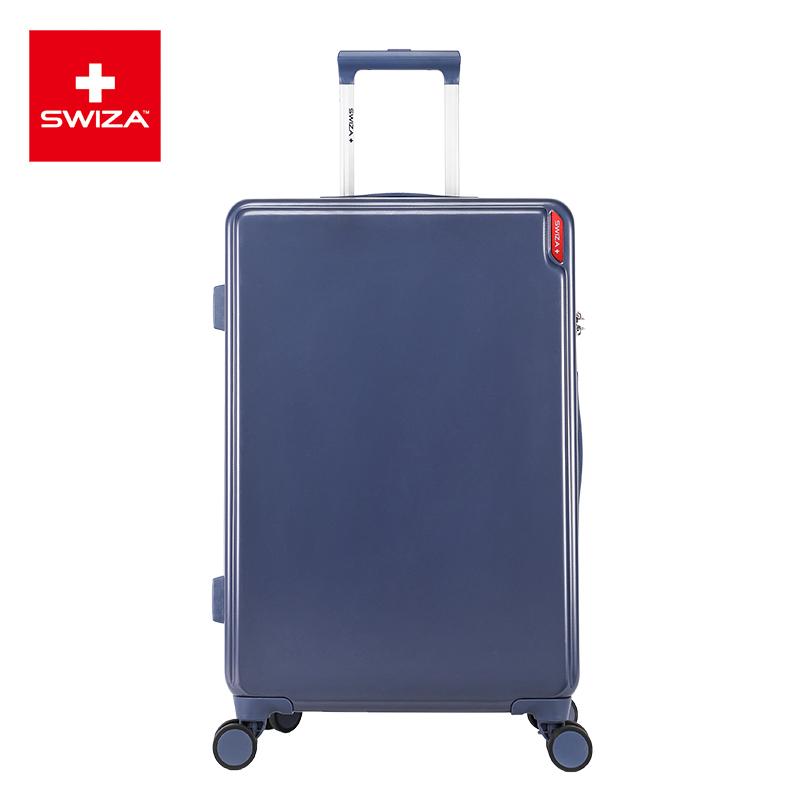 SWIZA百年瑞士行李箱万向轮耐磨抗摔拉杆箱22英寸旅行箱男女时尚登机箱 灵动系列