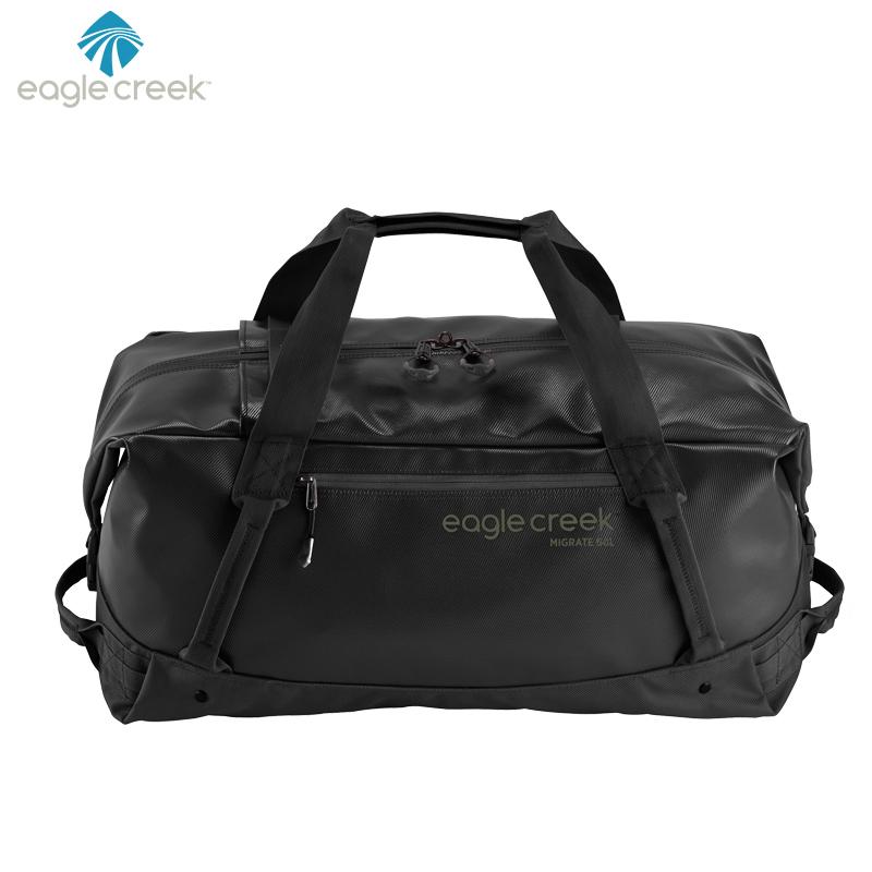 美国EAGLE CREEK逸客 旅行包袋Duffel驮包折叠大容量防雨户外旅行手提包 候鸟系列 音速黑 39.5L