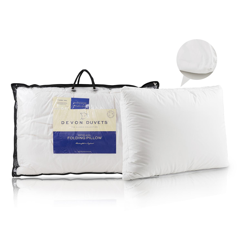 英国原产DEVON DUVETS羊毛枕枕头枕芯